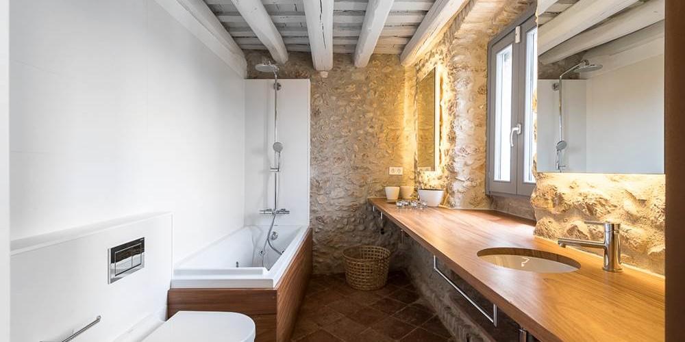 baños rusticos modernos | Tono Bagno