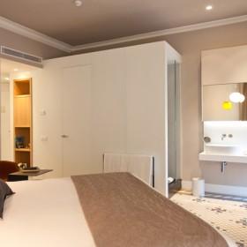 Baño de diseño hotel Alexandra Barcelona Tono Bagno