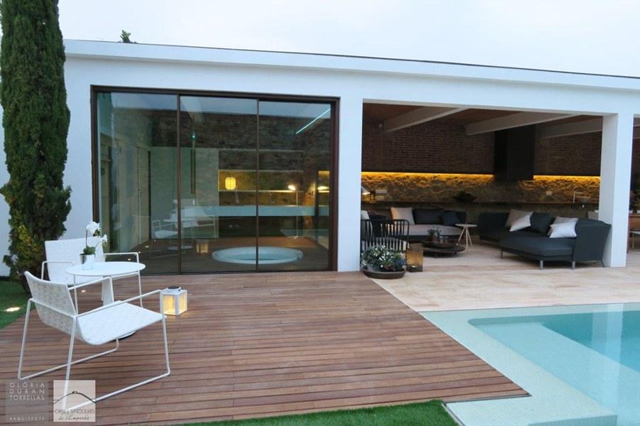 Ba os en casas rusticas tono bagno for Banos casas modernas