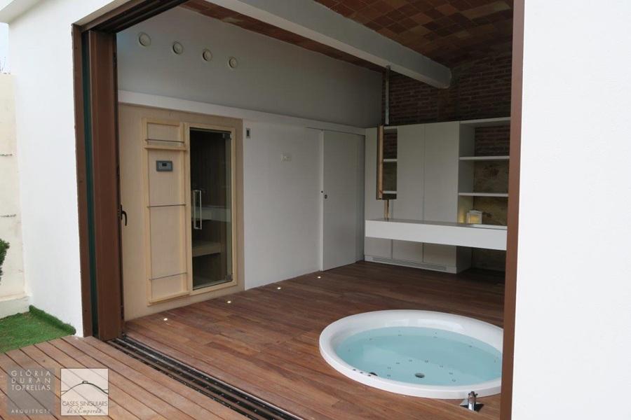 baños y spas casas rusticas, tono bagno, gloria duran