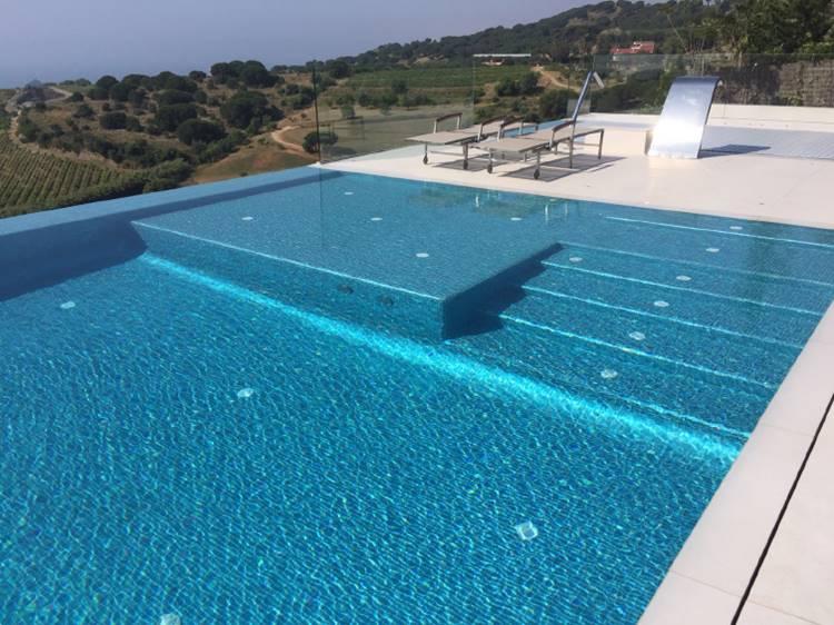 Mosaico para piscinas tono bagno for Revestimientos de piscinas