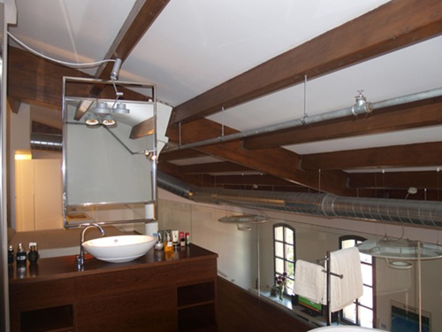 Tono Bagno Loft 22@ Barcelona baños modernos loft