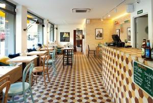 baño restaurante la florentina Barcelona