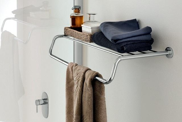 Accesorios para baños de diseño minimalistas - complementos de baño One de INDA - Tono Bagno - Barcelona