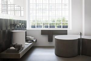 Bañera de diseño DR bathtub para el baño, bañera agape, Tono Bagno, Barcelona