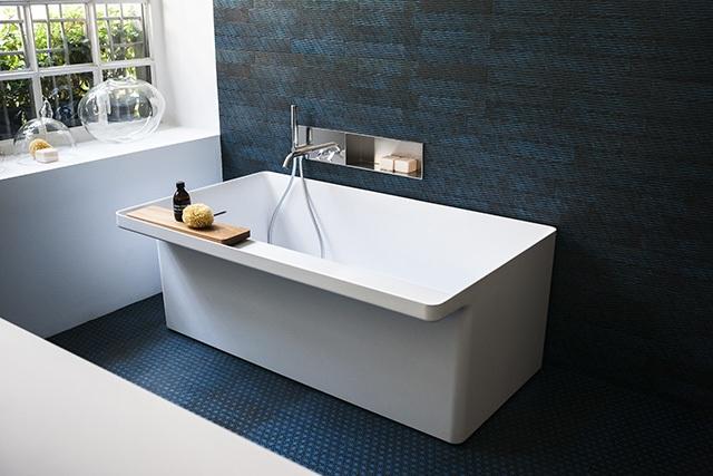 Bañera de diseño canal grande bathtub para el baño, bañera agape, Tono Bagno, Barcelona