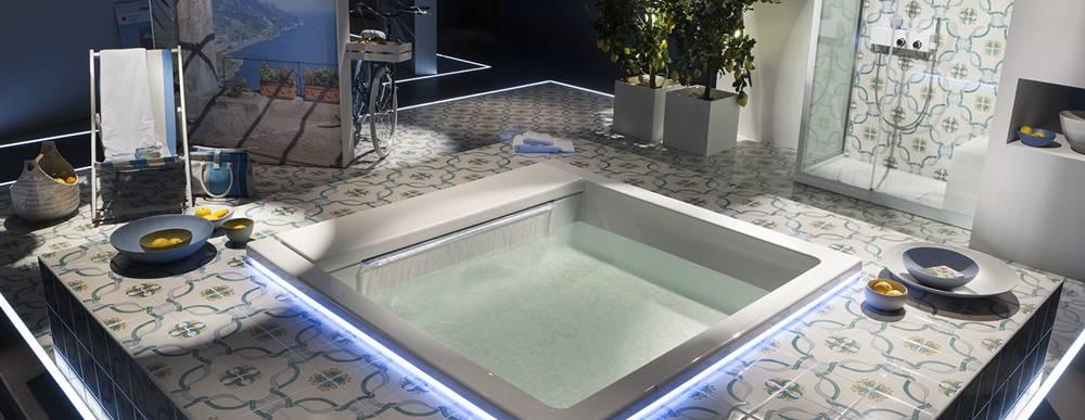 novedades baños 2018, Bañera Seaside Luce T09 – Teuco