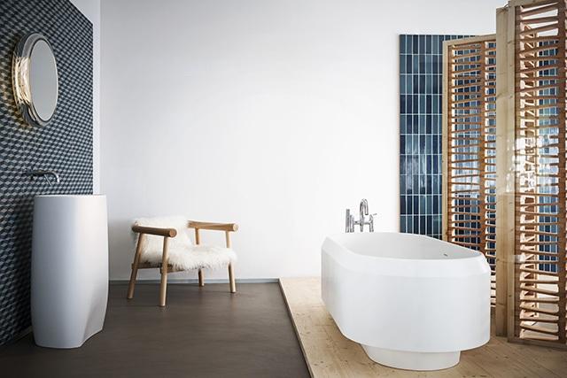Bañera de diseño lariana bathtub para el baño, bañera Agape, Tono Bagno, Barcelona