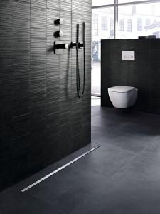 Canales Ducha y Sifones para duchas de obra Geberit Cleanline. Tono Bagno, Barcelona