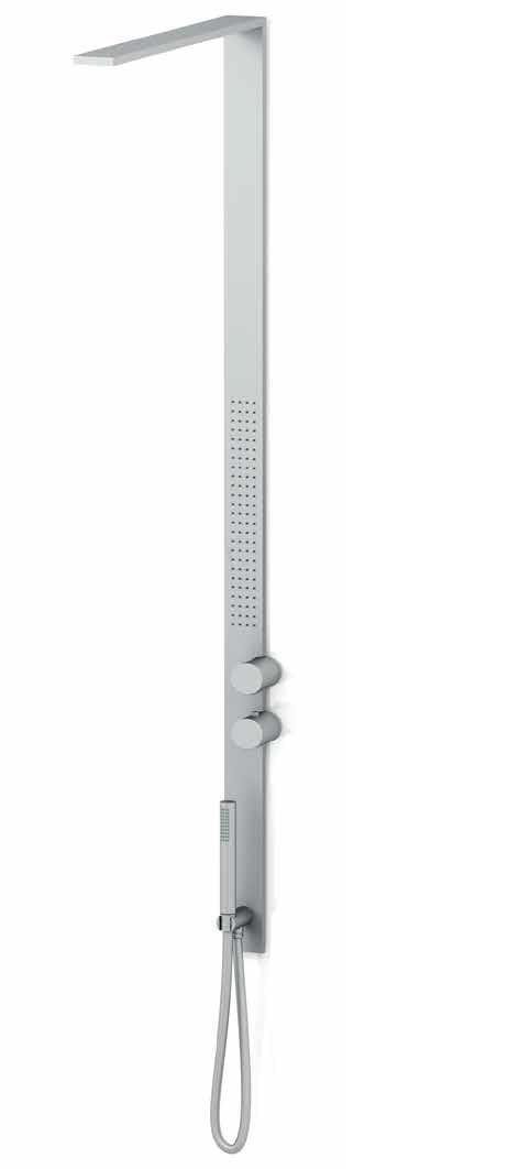 Griferia Vidrio Cascada Para Baño Diseno Elegancia:Fantini MilanoSlim – Griferia para ducha baños modernos