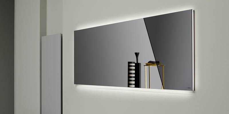 Tienda de espejos para ba os barcelona tono bagno for Lampara espejo bano