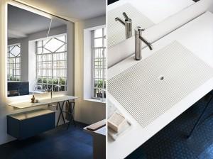 Ell system Agape, lavabos para baño, Tono Bagno, Barcelona