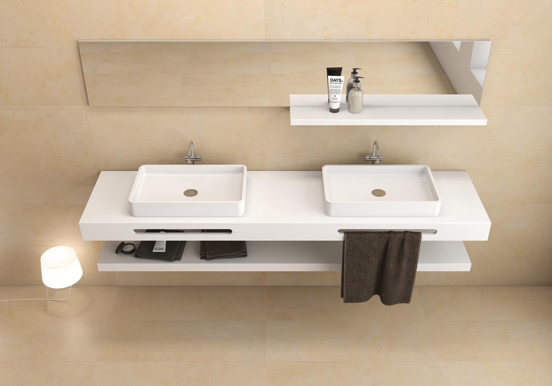 Encimeras Repisas hidrobox, lavabos de diseño, Tono Bagno Barcelona