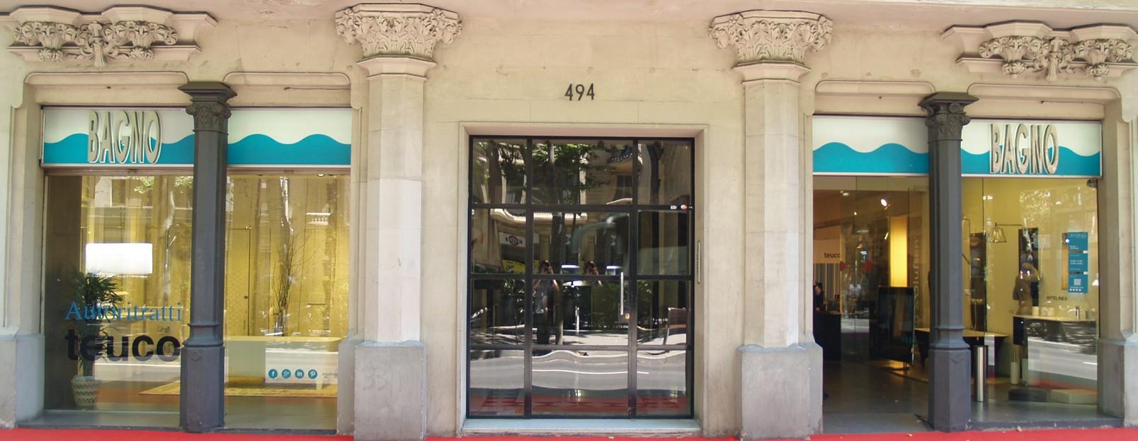 Entrada tienda Tono Bagno - Barcelona