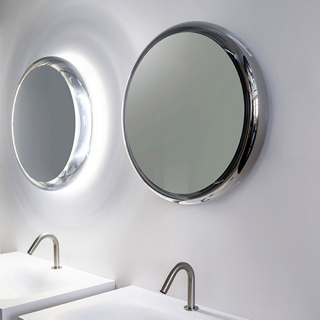 espejo para el bao solid de agape tono bagno barcelona