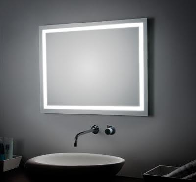 Espejos para baño Koh i Noor, espejos para el cuarto de baño, Tono Bagno Barcelona