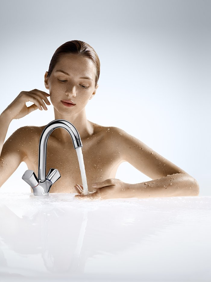 Griferia de lavabo Hansgrohe Logis Phoenix Design Tono Bagno Barcelona