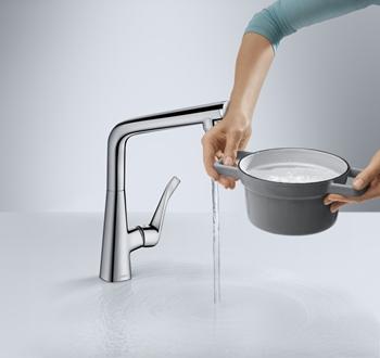 Griferia para cocina y baño Hansgrohe Metris Select Griferia de diseño Tono Bagno Barcelona