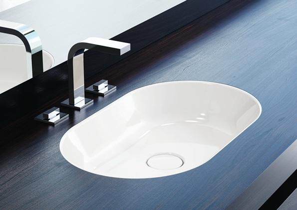 Lavabo de acero Kaldewei centro Lavamanos de diseño Tono Bagno Barcelona