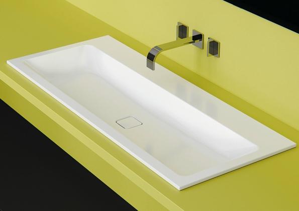 Lavabo de acero Kaldewei cono Lavamanos de diseño Tono Bagno Barcelona
