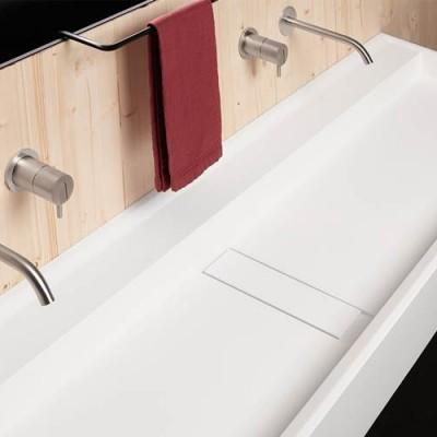 Lavabo sintetico Canale Antonio Lupi