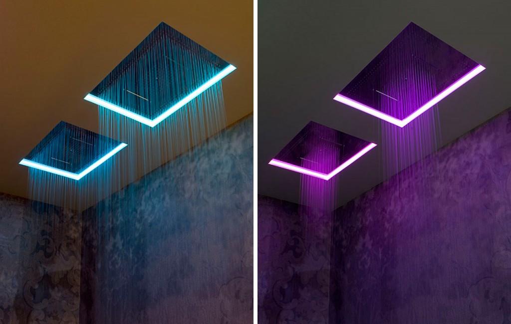 METEOXXL Antonio Lupi Duchas de techo efecto lluvia para baño Tono Bagno Barcelona