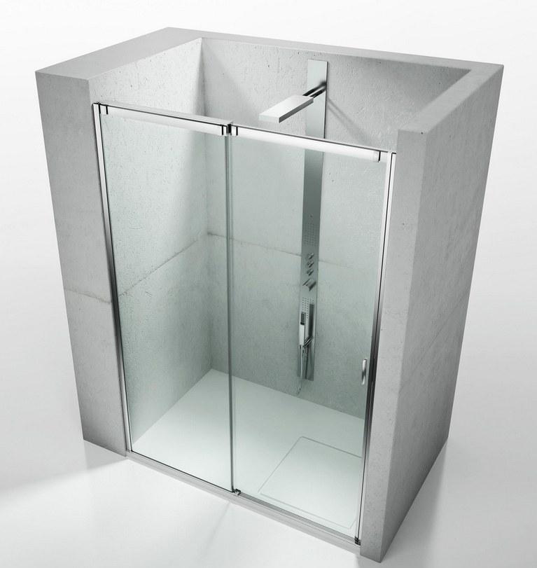 tienda de mamparas en barcelona, mampara Vismaravetro Slide VN , mampara para ducha