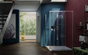 Mamparas de ducha Serie 8000 de Vismaravetro - mamparas para baño - Tono Bagno Barcelona