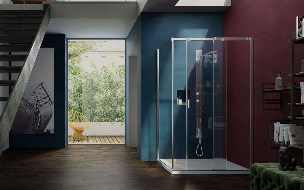 tienda de mamparas ducha barcelona, mamparas de ducha Serie 8000 de Vismaravetro, mamparas para baño