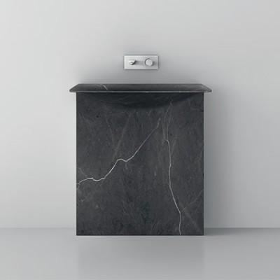 Milestone Teuco lavabos de diseño de pie marmol Tono Bagno Barcelona