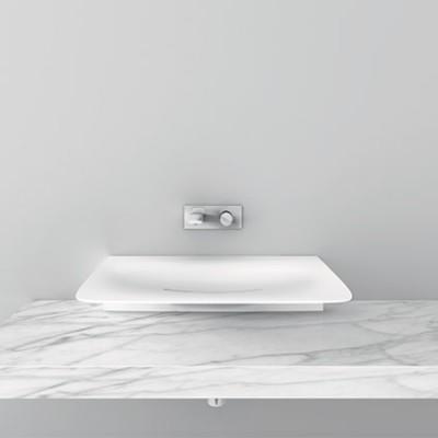 Milestone Teuco lavabos de diseño sobre encimera Tono Bagno Barcelona