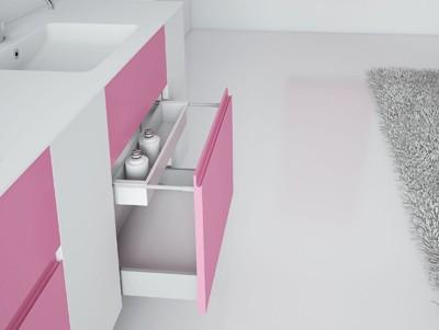 Modular de Cosmic, mueble flotante para baño, mueble de diseño para cuarto de baño, Tono Bagno, Barcelona