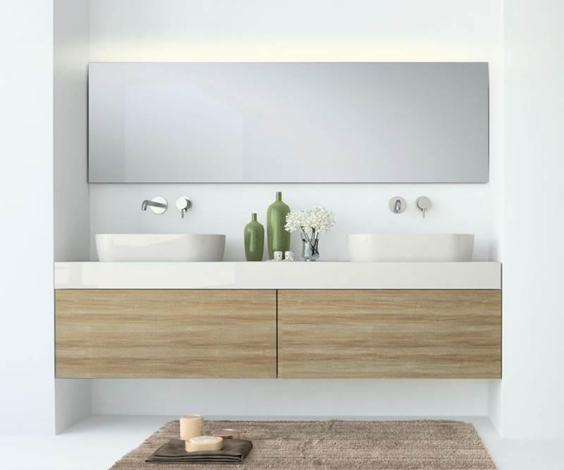 Muebles de baño a media