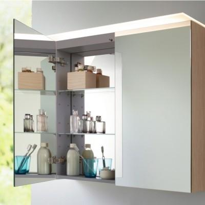 Muebles espejo con musica de diseño minimalistas - baños minimalistas - X-Large Duravit - Tono Bagno - Barcelona