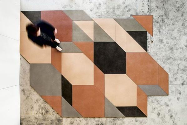 Mutina Tierras Industrial Patricia Urquiola - Pavimentos y revestimientos de diseño - Tono Bagno - Barcelona