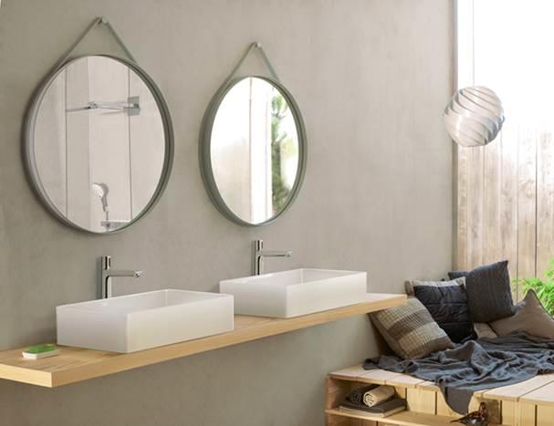 baños de diseño, griferia hansgrohe Talis select, Tono Bagno Barcelona