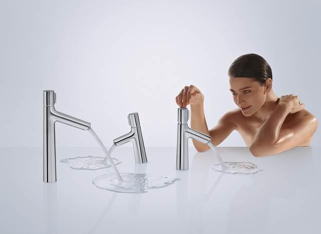 diseño de baños modernos, nueva griferia hansgrohe Talis select, Tono Bagno Barcelona