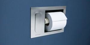 Porta papel higiénico fregadero WC