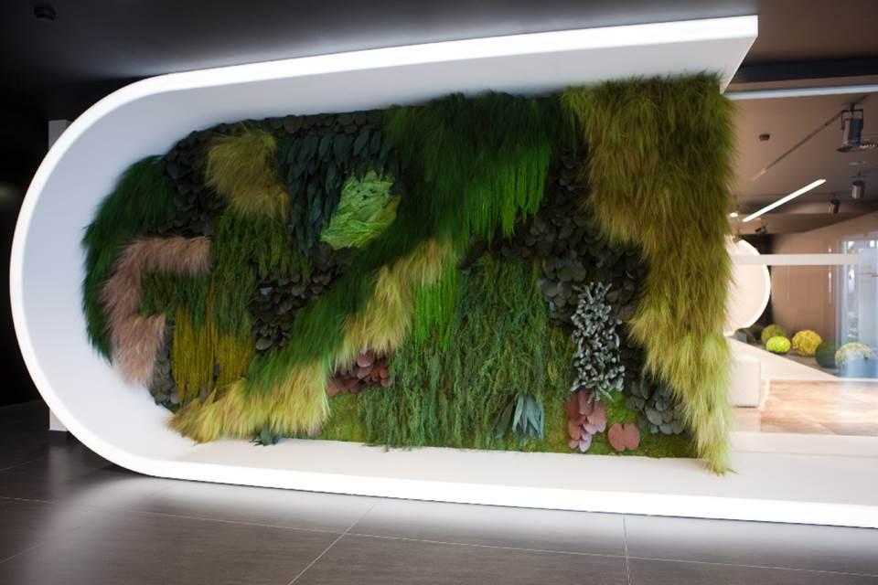 Revestimientos musgo, decoración vegetal - Tono Bagno, Barcelona