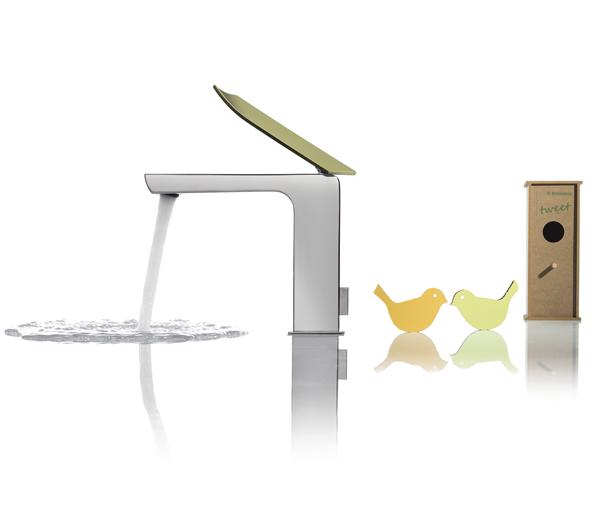 Ritmonio Tweet Griferia de diseño ecologica Tono Bagno Barcelona