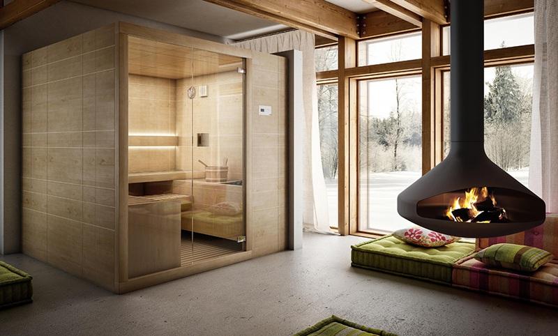 Sauna Arja de Teuco - Sauna finlandesa de diseño - Tono Bagno - Barcelona