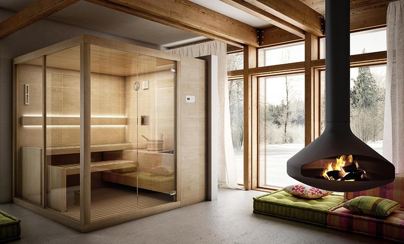 Sauna Arja de Teuco - Sauna finlandesa de diseño minimalista - Tono Bagno - Barcelona