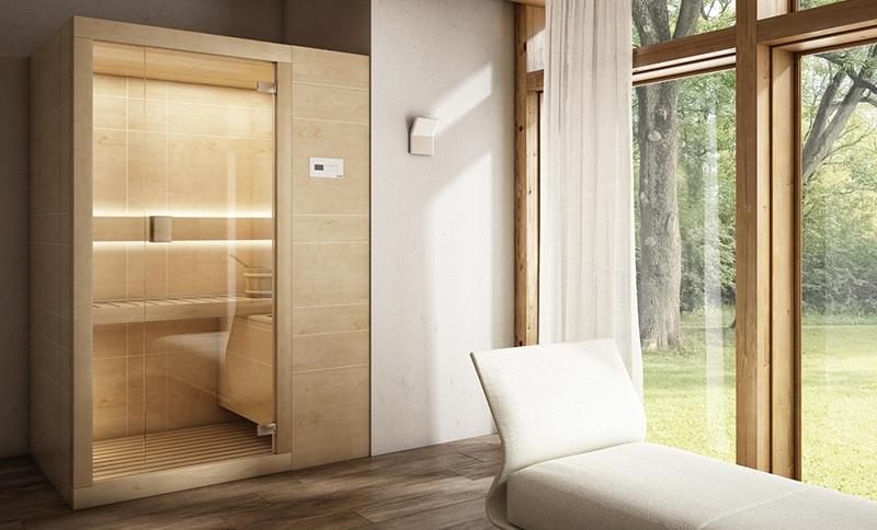 Sauna Arja de Teuco - Sauna finlandesa de madera moderna - Tono Bagno - Barcelona