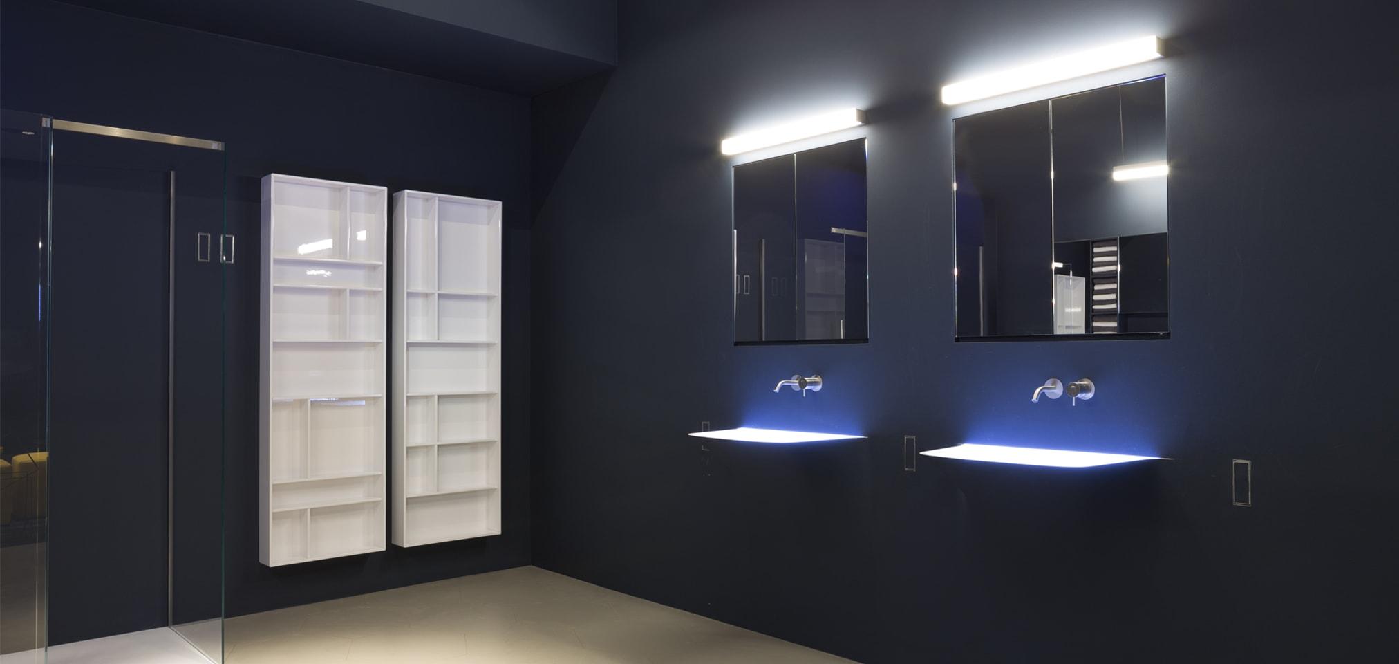 novades baños 2016 barcelona, baños de diseño, Soffio, lavabo lavamanos integrado en la pared, lavabo de diseño moderno, Tono Bagno Barcelona