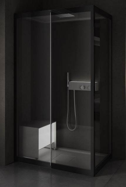 Baeras y duchas simple de lujo platos de ducha y mamparas - Mamparas para baneras baratas ...