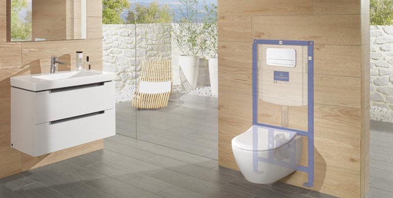 ViConnect Villeroy Boch, Villeroy&Boch, cisternas empotradas y pulsadores para el baño, Tono Bagno