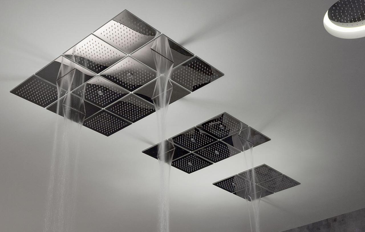 Griferia Vidrio Cascada Para Baño Diseno Elegancia:griferias de diseño para baños