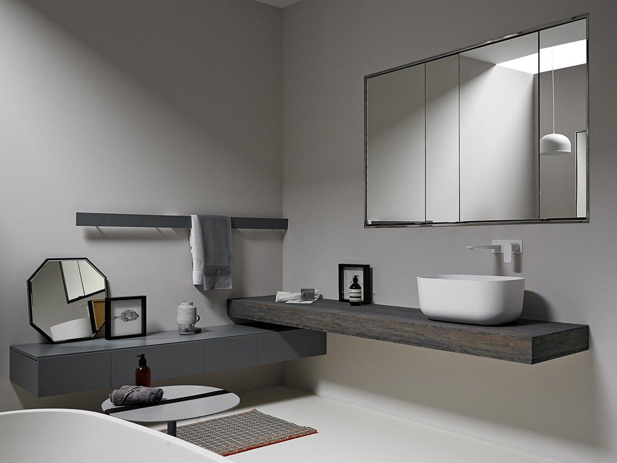 diseño de baños, camerino espejo armario inbani KA