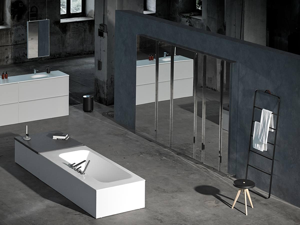 Iluminacion Baño Camerino:Espejos de baño camerinos KA de Inbani