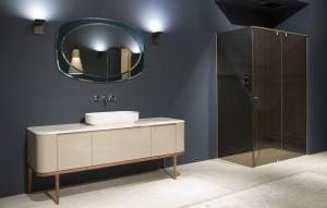 mampara de diseño para baño - mobiliario de diseño - Tono Bagno Barcelona